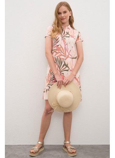U.S. Polo Assn. Elbise Pembe